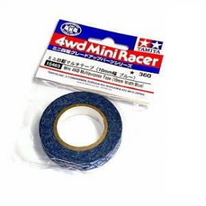 Tamiya 15163 Mini 4WD Multipurpose Tape (10mm Width/Blue)